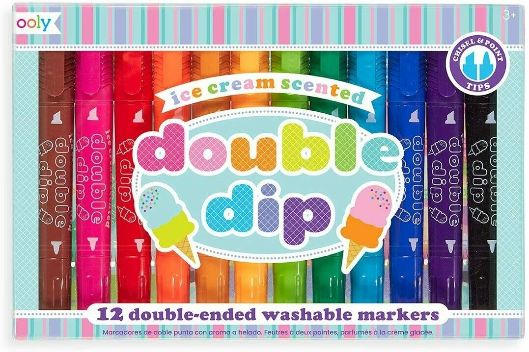 Double Dip Scented markers