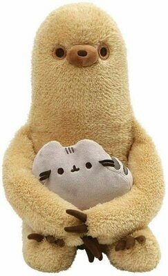 Sloth and Pusheen