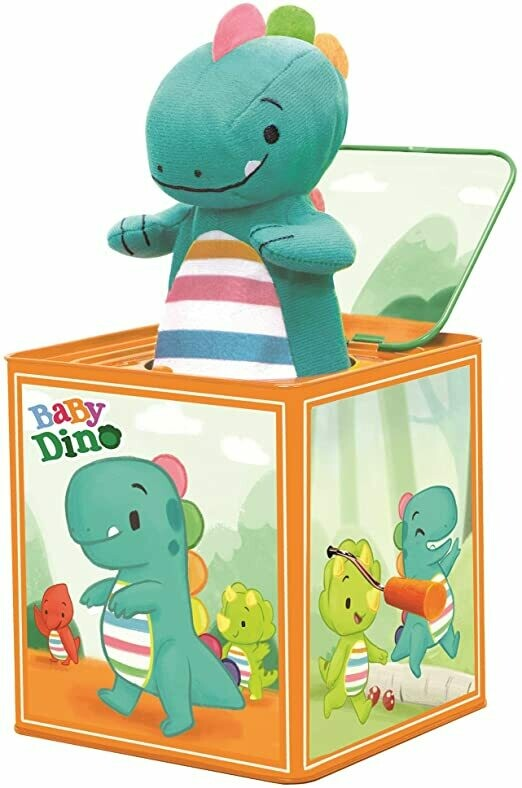 Baby Dino Jack-in-the-Box