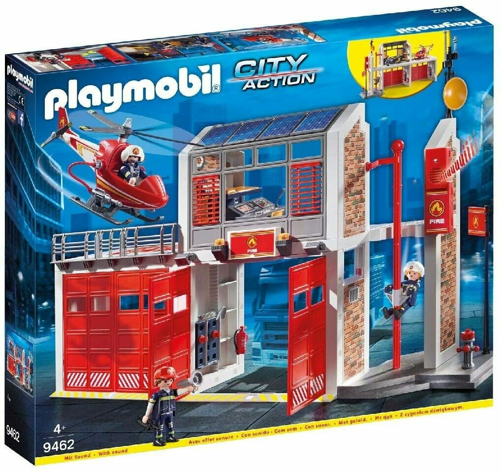 Playmobil Firestation