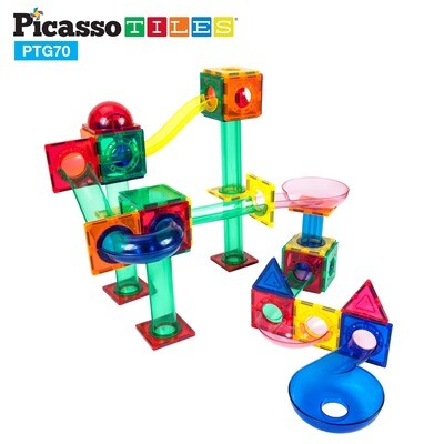 Magnetic Marble Run