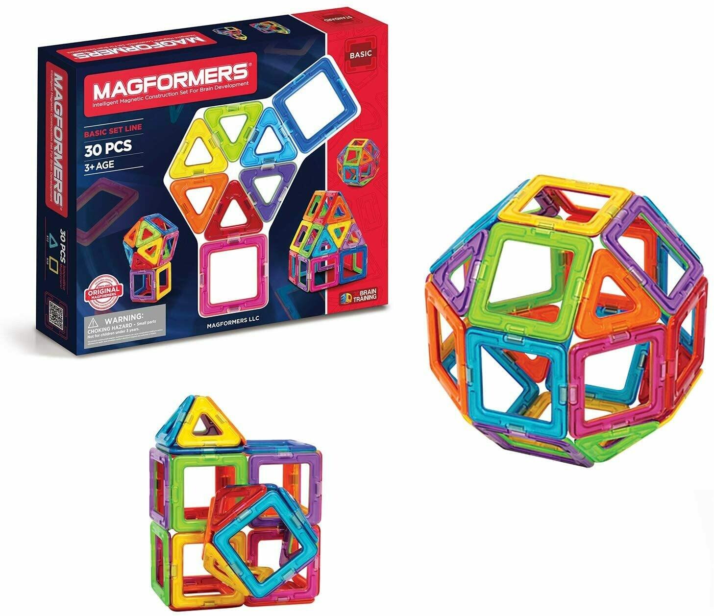 Magformers Rainbow 30-Pc Set