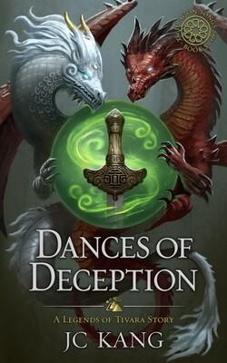 SIGNED Paperback: 1st Edition Dances of Deception