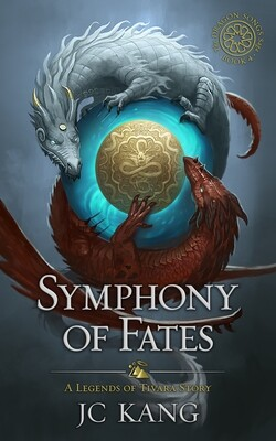 SIGNED Paperback 1st Edition Symphony of Fates