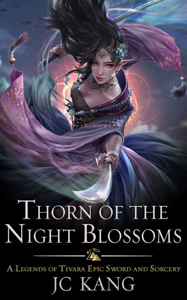 SIGNED Paperback 3rd Edition of Thorn of the Night Blossoms