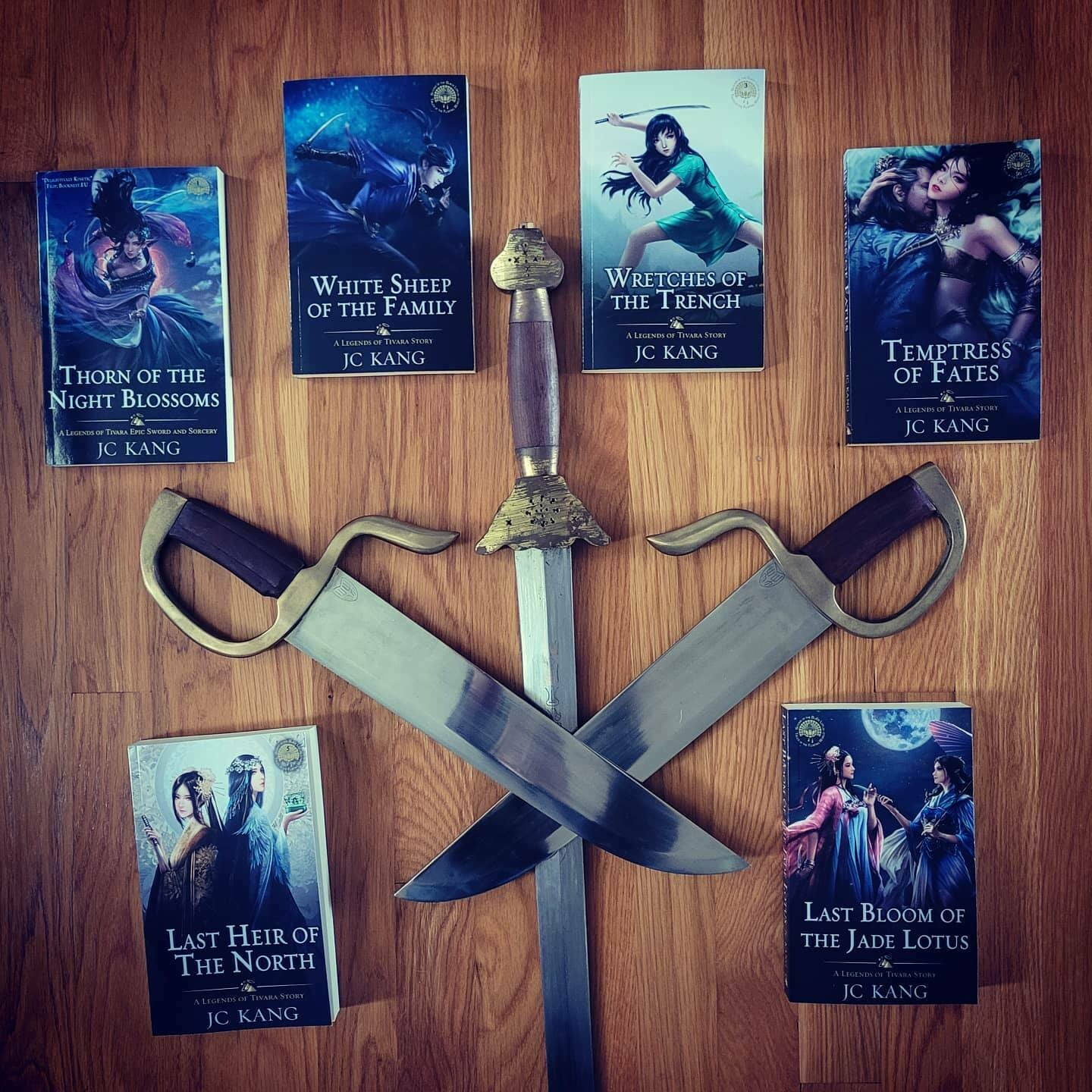 Signed Paperback Set: Scions of the Black Lotus
