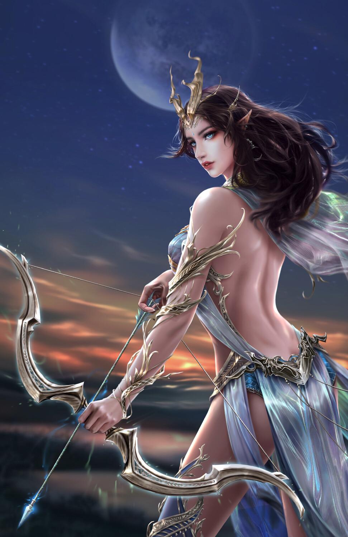 11 x 17 Print: Jewel of the Elf Queendom