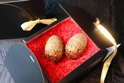 2 x Dragon eggs in same box