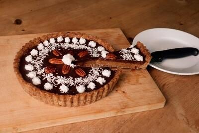 Salted Macamel Pecan Pie