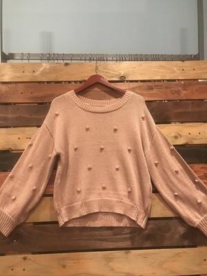 Blu Pepper Mauve Sweater