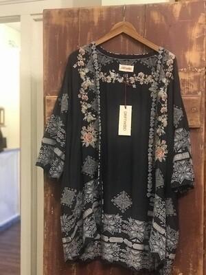 Driftwood Grey Kimono