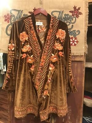 Driftwood Velvet Kimono