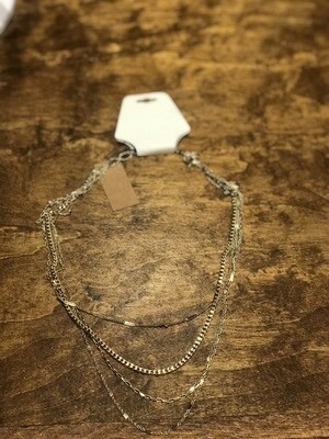 Four Row Chain Necklace