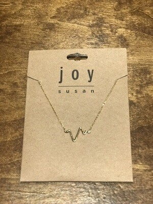 Heartbeat Necklace - Gold