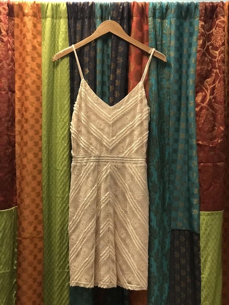 Ivory Strap Dress