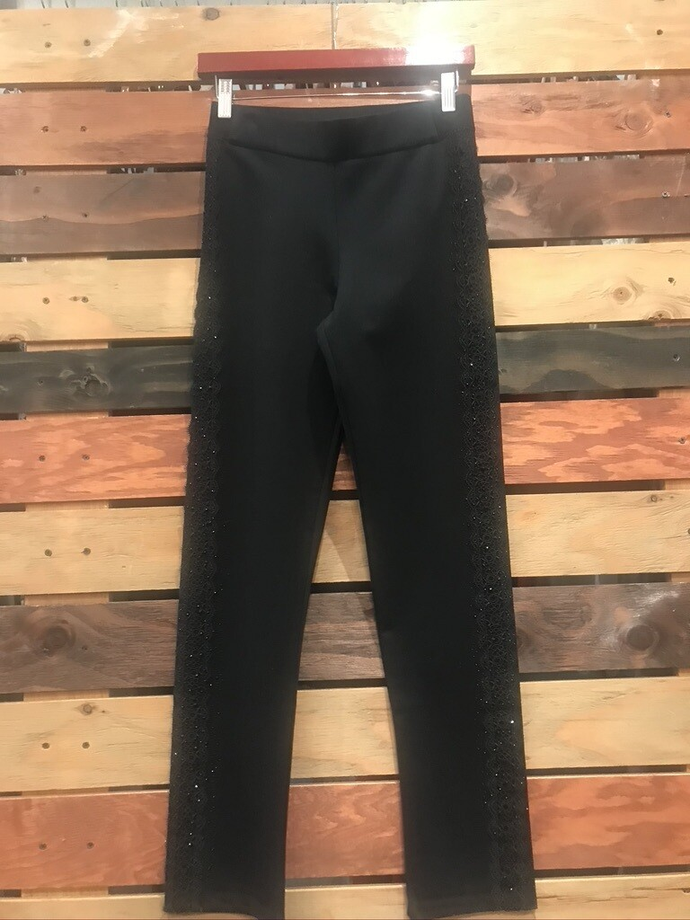 Milano Luxe Spanish Pant with Lace
