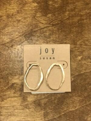 Joy Susan Oval Hoop Post