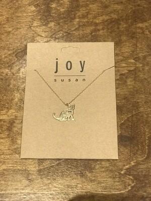 Joy Susan Kitty Love Necklace