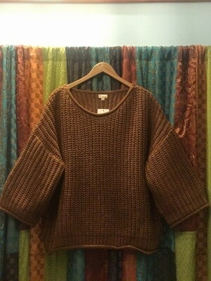 POL Dried Carrot Sweater