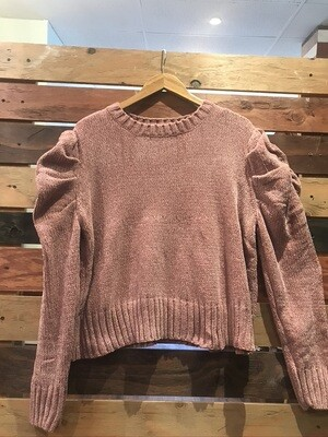 POL Puff Sleeve Sweater