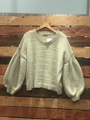 POL Sage Sweater with Boho Sleeves