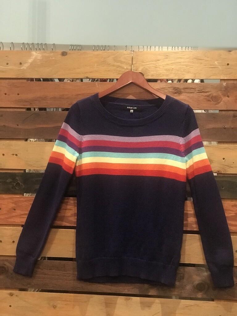 Sugar Lips Rainbow Sweater