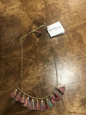 Tassel Necklace/ World Finds