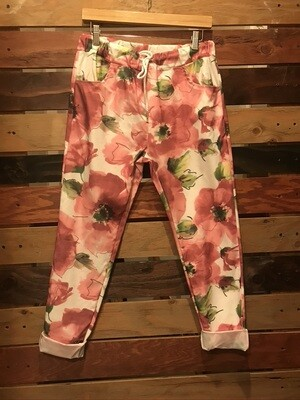 Pink Poppy Pants One Size