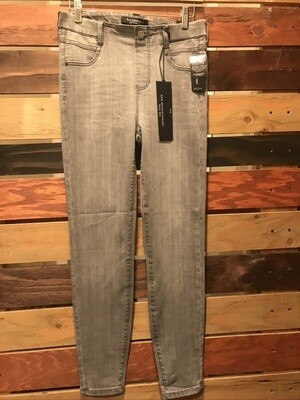 Liverpool Grey Pull on Jeans