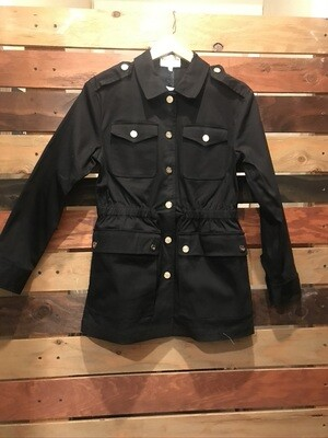 Patty Kim Safari Jacket - Black