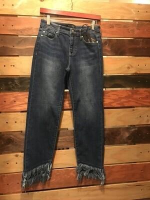 Liverpool Jeans w/Double Fray Hem
