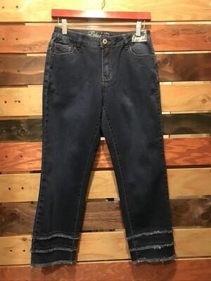 Ethyl Triple Hem Jeans