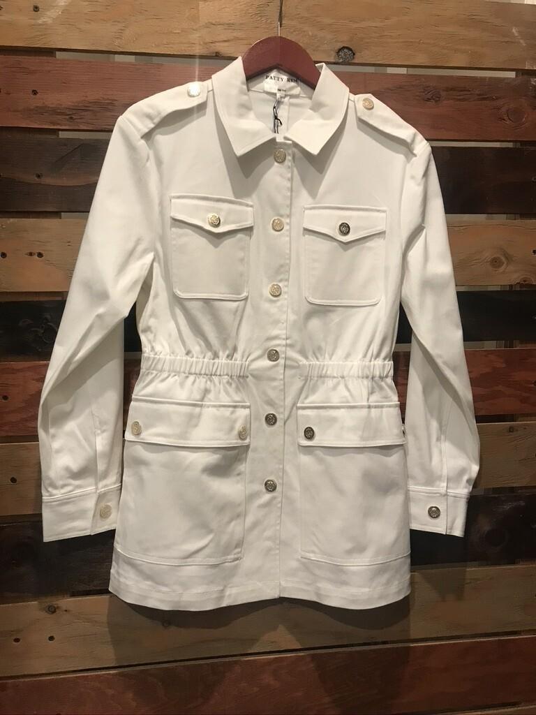 Patty Kim Safari Jacket - White