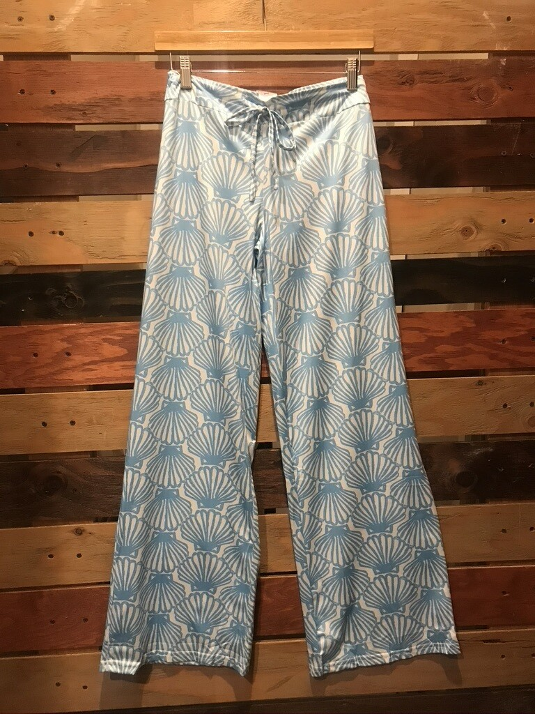 Top It Off Blue Palazzo Pant