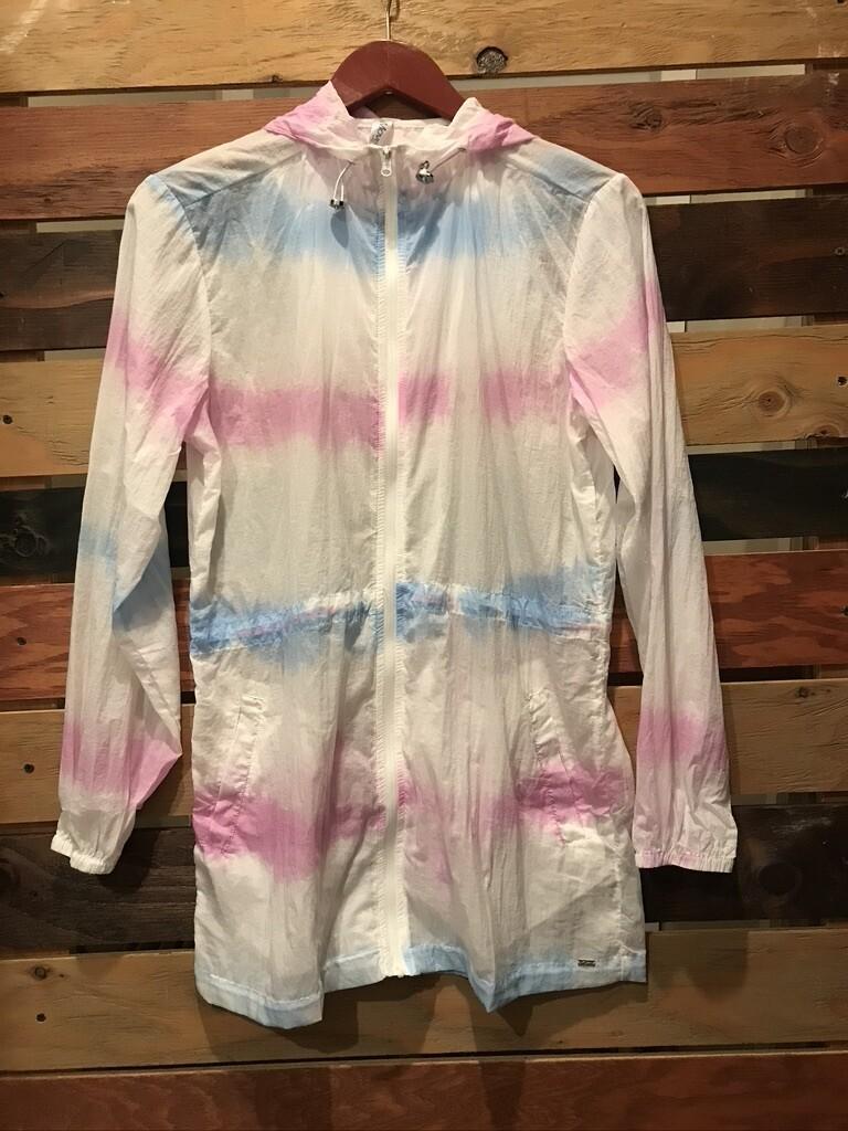 Tye-Dye Hooded Jacket