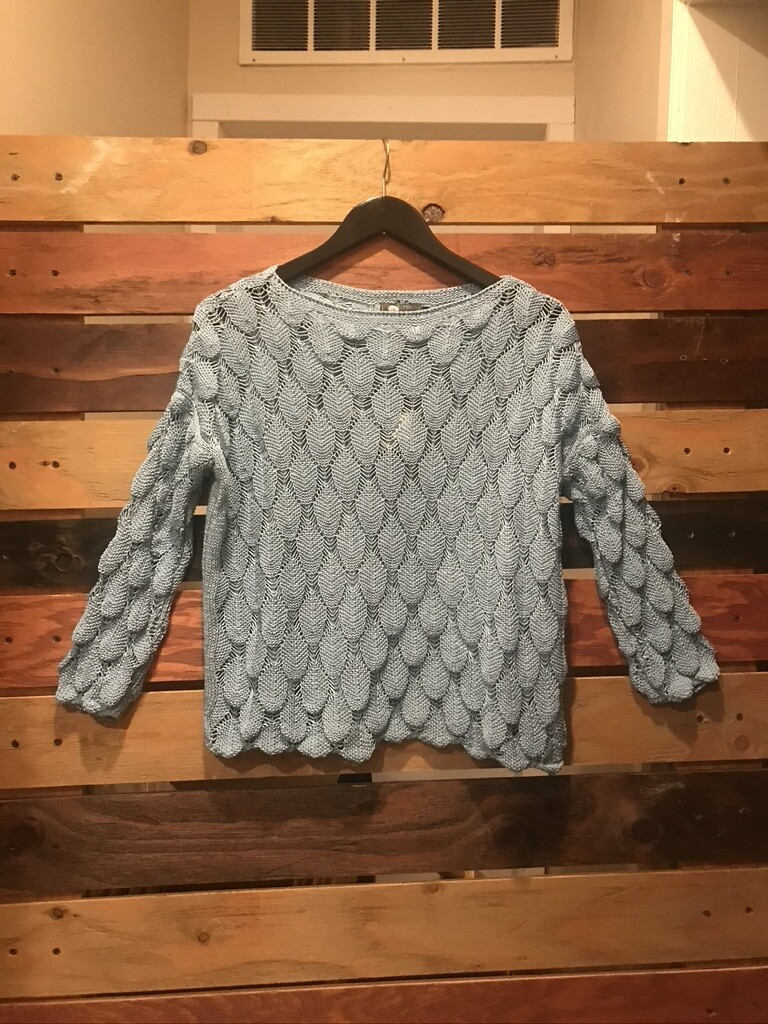 Made in Italy L/S Sweater - Blue