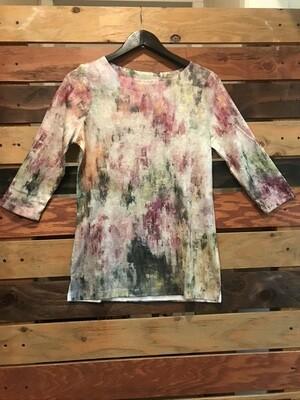 FDJ Watercolor Boatneck Shirt
