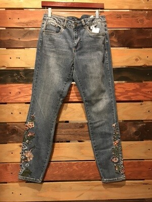 FDJ Embroidered Jeans