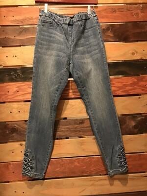 FDJ Braid Bottom Jean