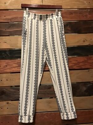 Print Knit Jogger Pants