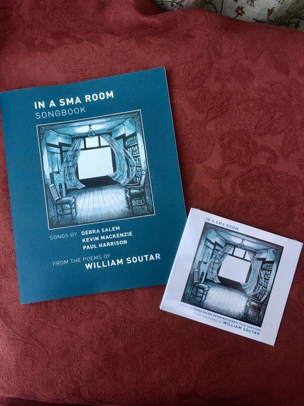 IN A SMA ROOM - Songbook & CD Bundle (inc. UK postage)