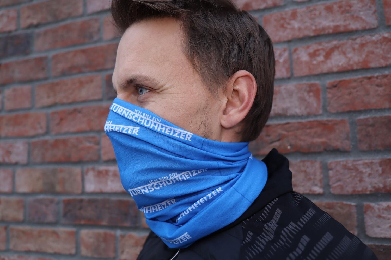 Turnschuhheizer Tuch -blau-