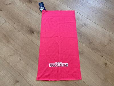 Turnschuhheizer Tuch -pinkweiss-