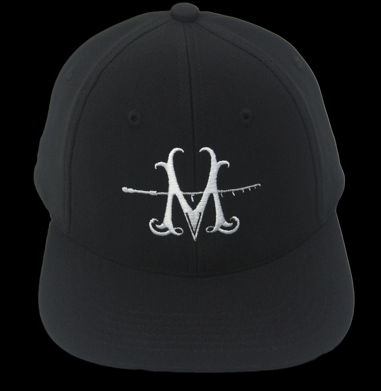 NEW MILLERODS SNAP BACK BLACK 'M' CAP (Poly)