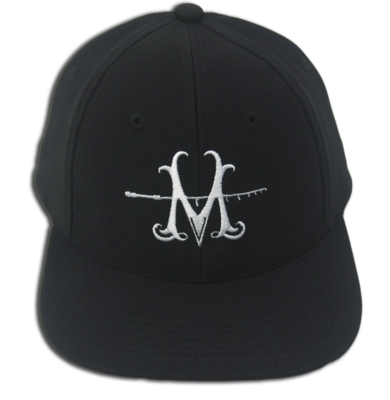 NEW MILLERODS SNAP BACK BLACK 'M' CAP (Poly)