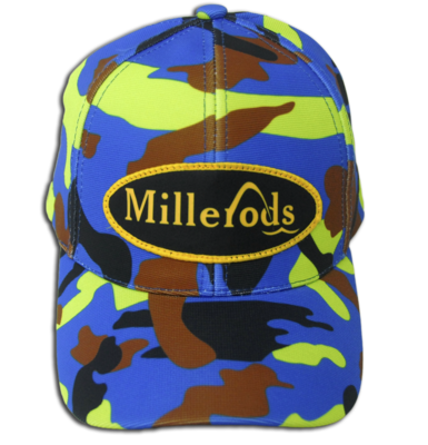 MILLERODS CAMOUFISH BADGE CAP (Poly)