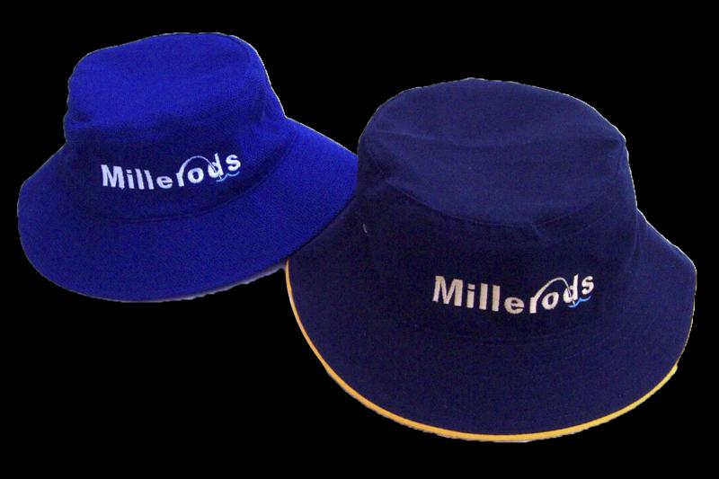 MILLERODS LOGO BUCKET HATS