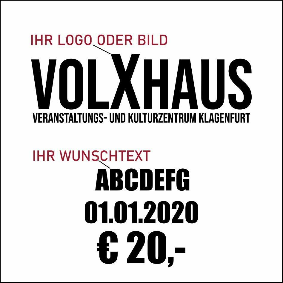 Spende ans VolXhaus