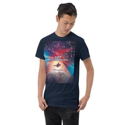 """Klassisches Herren-T-Shirt """"JUST EXTRATERRESTRIAL"""""""