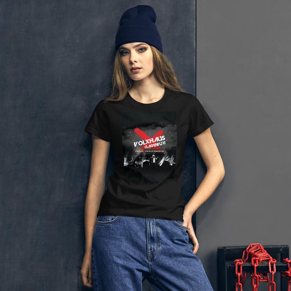 """Fashion Fit-T-Shirt für Damen """"STILL ALIVE"""""""